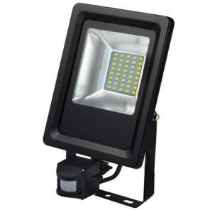 LED reflektor HL0680040020 20W 220-240V 6500K černá