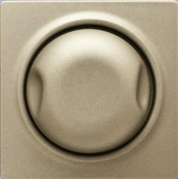 Kryt pro stmívač 600W/1000W metalická béžová Visage Deluxe
