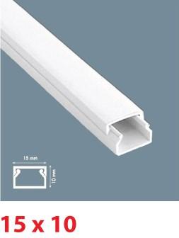 Instalační lišta PVC 15×10, délka 2 m