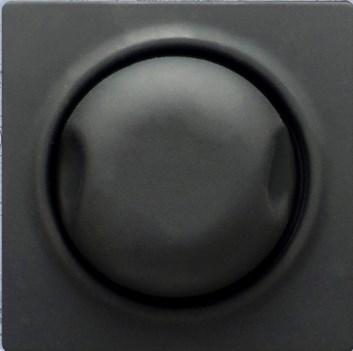 Kryt pro stmívač 600W/1000W s podsvícením černá Visage Deluxe