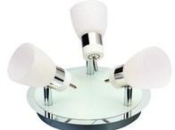 Svítidlo HL 7190L stropní dekorativní 3x4W 220-240V chróm