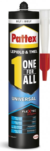 PATTEX One For All Universal lepidlo bílé 389g