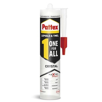 PATTEX One For All Crystal lepidlo transparentní 290g