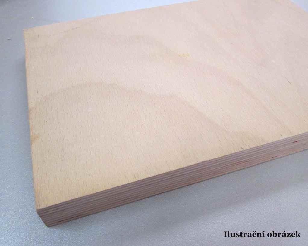 Překližka truhlářská Buk 4mm x 2200 x 1250/137,50,-Kč/m2