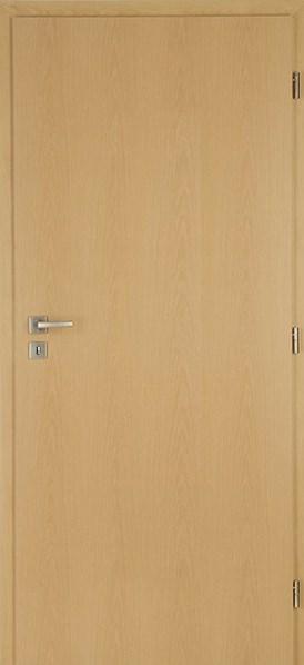 Protipožární dveře DUB plné levé /60 cm