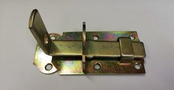Zástrč zamykací rovná   120*45*5mm /27,60 Kč/ks