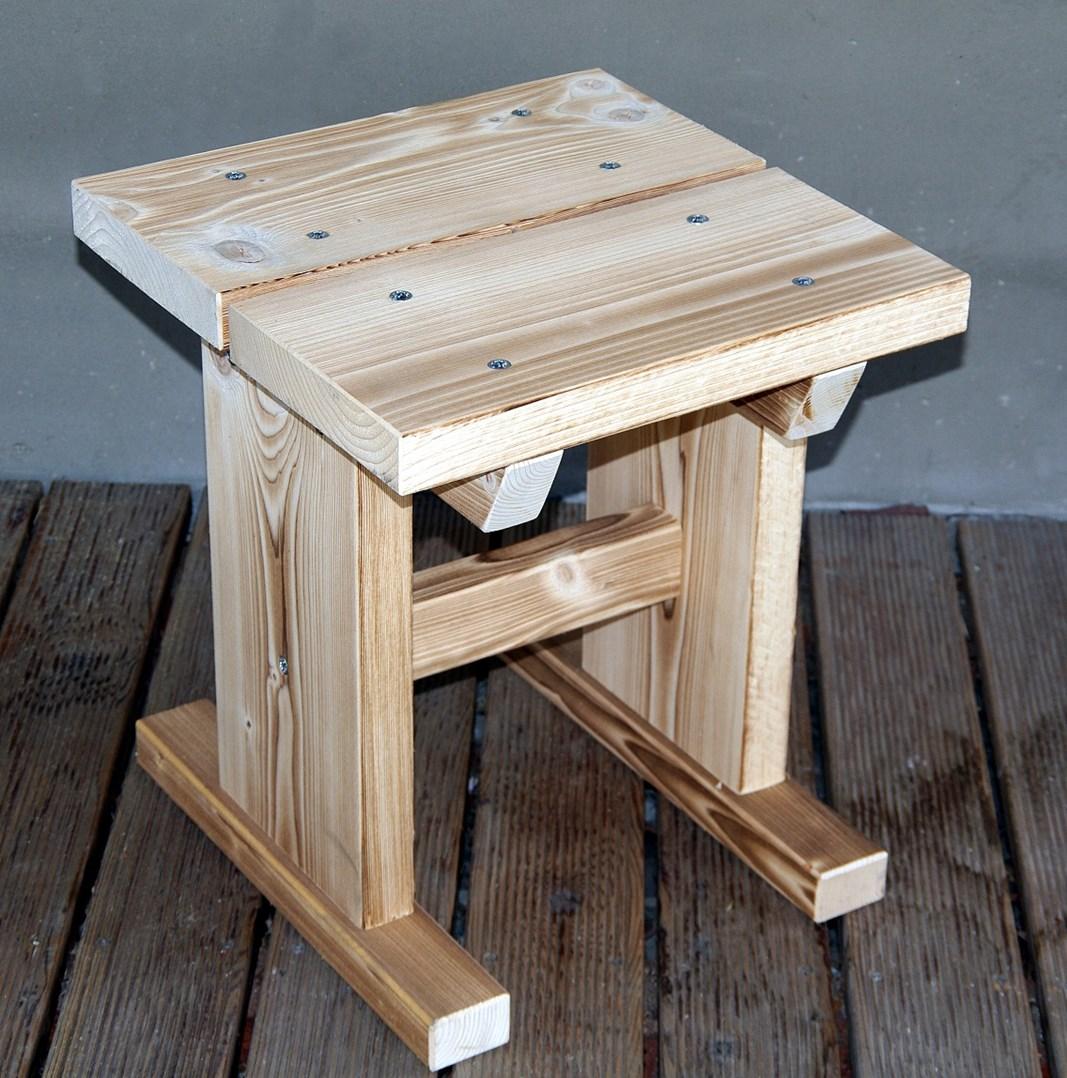 Zahradní stolička KVH 410x410x460