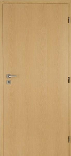 Protipožární dveře DUB plné levé /70 cm