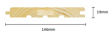 Palubka BO podlah. 21 x 145 x 3m /214,- Kč/m2/bez DPH