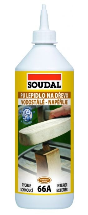 SOUDAL 66A Lepidlo na dřevo 250g