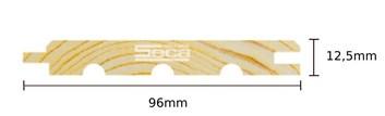 Palubka Smrk 12,5 x 96 x 4m /143,75Kč m2 bez DPH N.