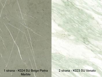 Zástěna zádová deska   K023   SU/K024   SU  4,1m /555,40 Kč/bm
