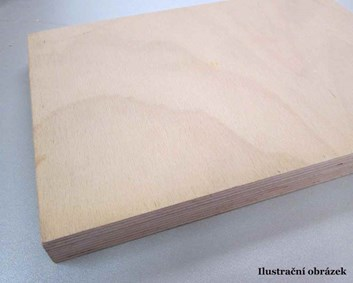 Překližka truhlářská Buk 12mm x 2200 x 1250/370,- Kč/m2