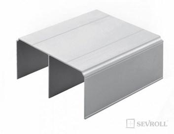 Sevroll horní vedení   3m  stříbrná   Gemini /342,30 Kč/ks