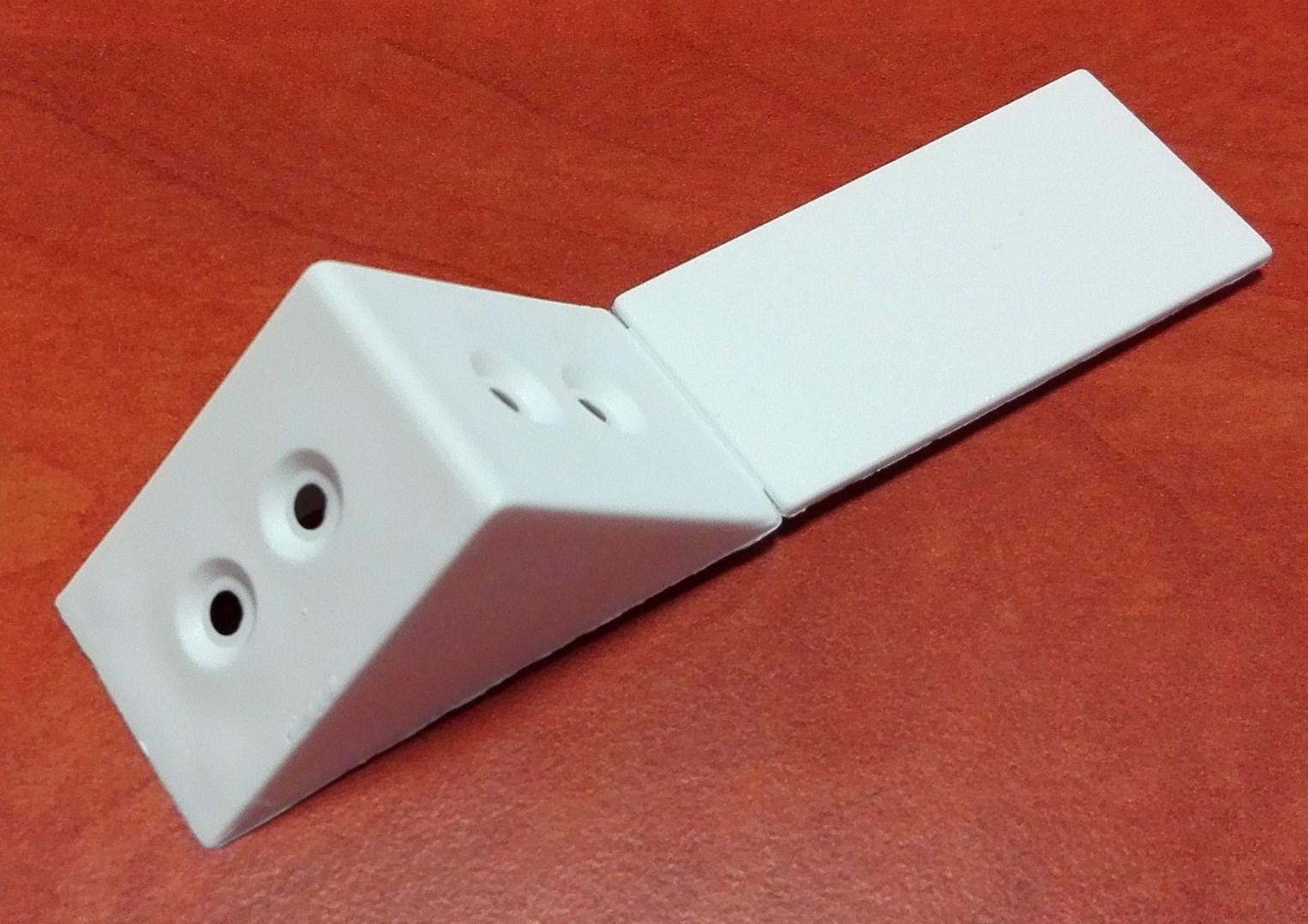 ÚHELNÍK PVC Bílý 35*35*24mm