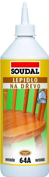 SOUDAL 64A Lepidlo na dřevo 750g /160,-Kč/ks