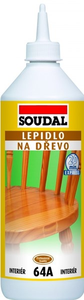 SOUDAL 64A Lepidlo na dřevo 750g
