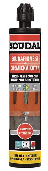 Chemická kotva VE-SF         280ml /338,20 Kč/ks