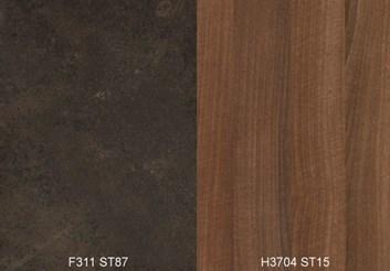 Zádová deska zástěna   F311   ST87/H3704  /513 Kč/bm