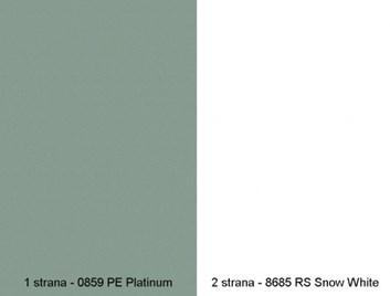 Zádová deska zástěna   0859 PE/8685 RS   4,1m /569 Kč/bm