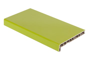 Parapet akryl. zelený lesk 300/6000 /670,80 Kč/bm