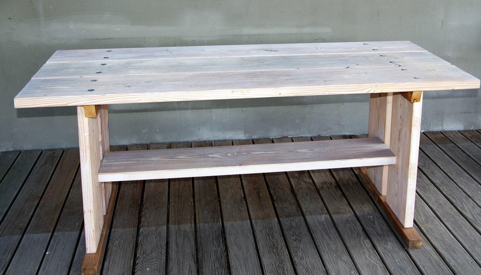 Zahradní jídelní stůl KVH 1800x620