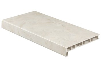 Parapet akryl. bristol  matný 300/6000 /609,80 Kč/bm