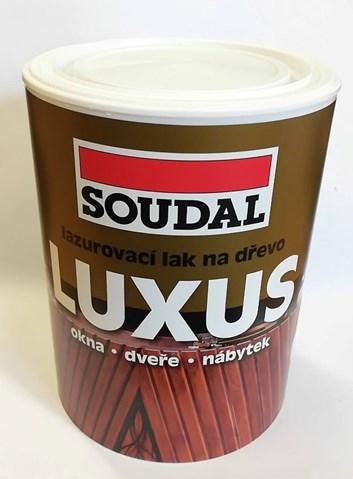 Lazura transparentní luxus   0,75l /186,- Kč/ks