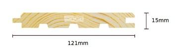 Palubka Smrk obkl. 15 x 121 x 4m /180,-Kč/m2/bez DPH