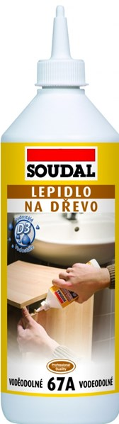 SOUDAL 67A Lepidlo na dřevo 250g /104,-Kč/ks
