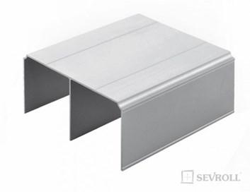 Sevroll horní vedení   2,35m  stříbrná   Gemini /267,90 Kč/ks