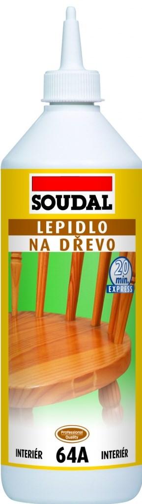 SOUDAL 64A Lepidlo na dřevo 250g