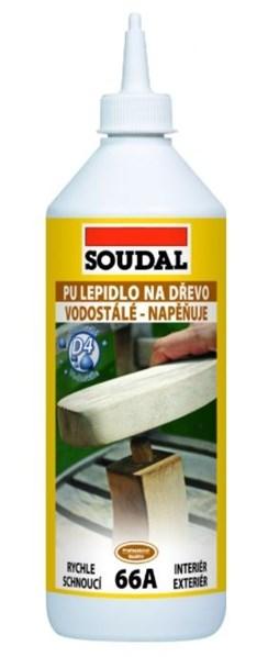 SOUDAL 66A Lepidlo na dřevo 750g /241,40 Kč/ks