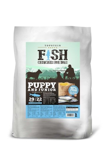 Topstein Fish Crunchies Puppy/Junior 5 Kg