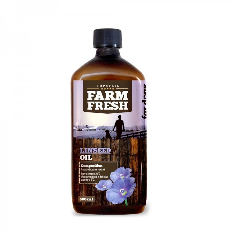 Farm Fresh – Linseed Oil - Lněný olej 500 ml