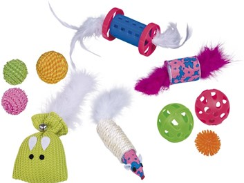 Nobby startovní set hraček pro kočky 10 ks