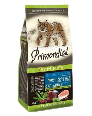 Primordial LOSOS & TUŇÁK pro dospělé kočky 2kg
