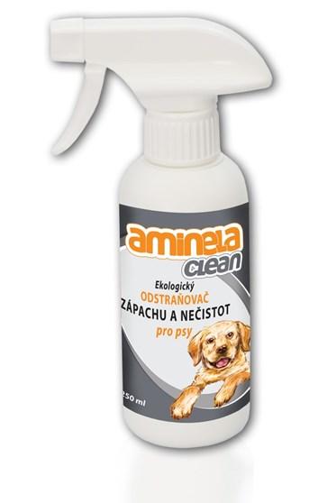 Aminela Clean Ekologický odstraňovač zápachu a nečistot pro psy 250 ml