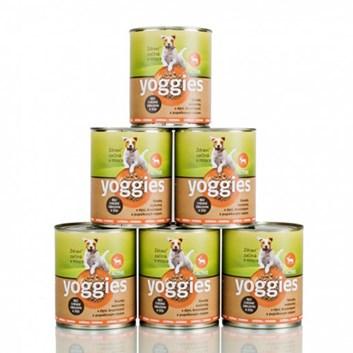 Yoggies zvěřinová konzerva 5+1 zdarma ( 6 x 800 g )