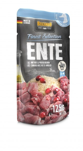 Belcando Duck with rice & lingonberry 125 g, 300 g
