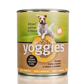 Yoggies krůtí konzerva 800 g