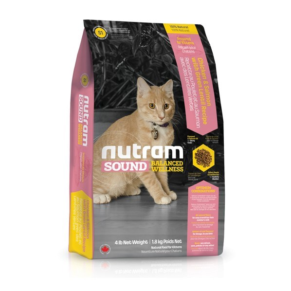 S1 Nutram Sound Kitten 1,8 Kg