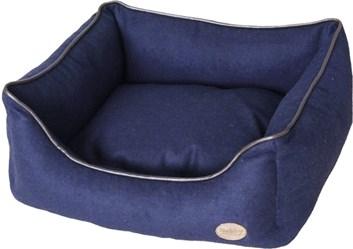 Nobby TIRA bavlněný pelíšek modrý 45x40x18 cm