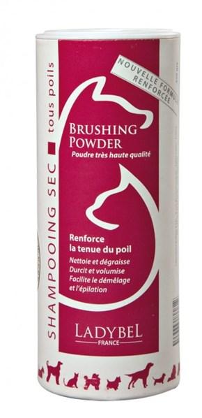 Suchý šampon pudr Ladybel pro objem a lesk 250 g