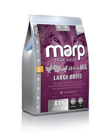 Marp Holistic  White Mix Large Breed 12 Kg + konzerva ZDARMA
