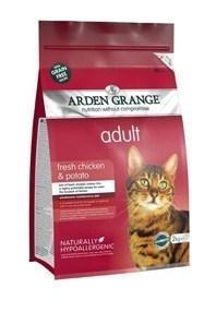 Arden Grange Adult Cat: fresh chicken & potato - grain free recipe  4 Kg
