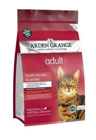Arden Grange Adult Cat: fresh chicken & potato - grain free recipe  4 Kg