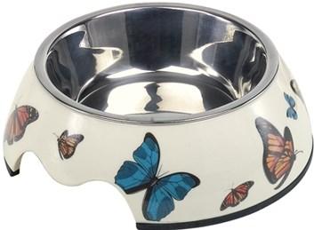 Nobby Butterfly nerez miska v pouzdře s motýly  160 ml