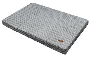 Nobby Seoli podložka s paměťovou pěnou šedá 110x70x10 cm