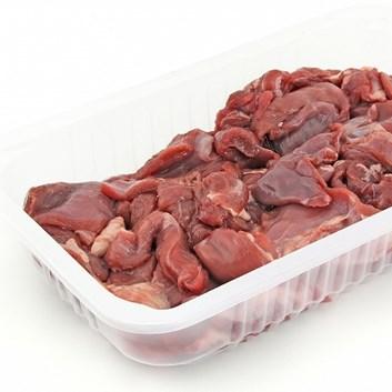 Mięso z sarny 500 g - tacka